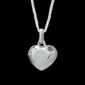 SilverCremation Pendant-Heart