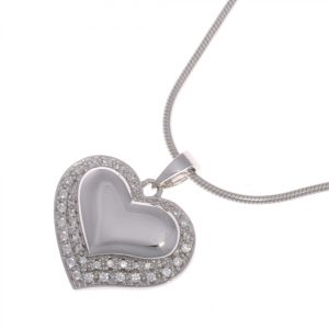 Diamante Heart