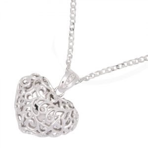 Scrolled Heart